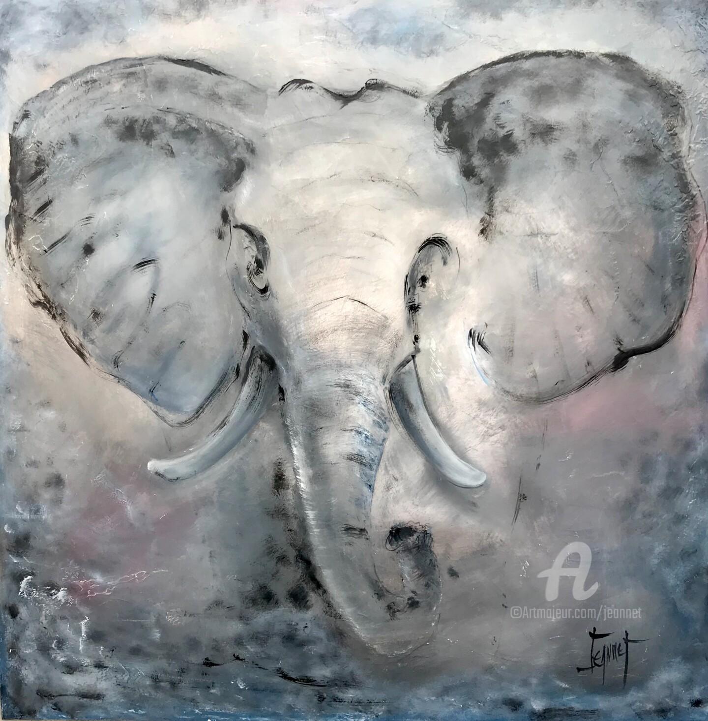 Jeannet - ELEPHANT Gris